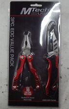 3pc Multi Tool Kit Tactical Rescue Pocket Knife Pliers Survival Camp Fish RV UTV