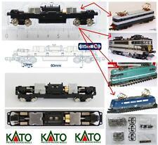KATO CHASSIS-TELAIO 8 RUOTE MOTRICI mm.85-90 ADATTABILE a FS E444 SNCF.SCALA-N