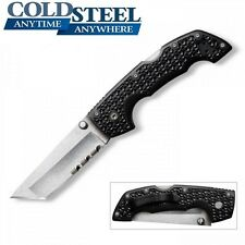 Cold Steel - VOYAGER Medium Tanto Point Folding Knife Serrated Edge 29TMTH NEW
