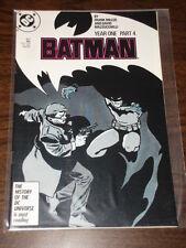 BATMAN #407 DC COMICS DARK KNIGHT NM CONDITION MAY 1987