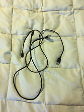 2 BLACK MICRO SD USB 3 FOOT FEET CORD CABLE LOT SET