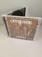 Agony - Oppressor CD 1996 First Press Soil