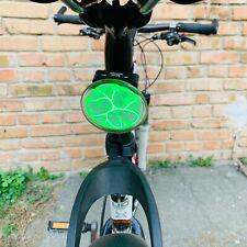 Expressive Bicycle Plasma Neon rear back light bike taillight nixie GREEN