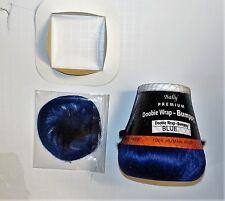 4 inch doobie wrap bumpy_blue_human hair_free closure_free shipping