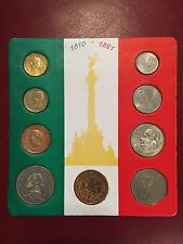 Vintage Collection Mexican Money Display
