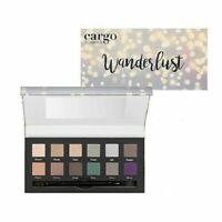 Cargo Wanderlust Eye Shadow Palette 12 Shadows Dual-ended  Brush New Fall 2017
