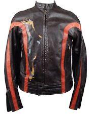 New Authentic Belstaff Leather Café Racer Daytona Blouson Size L Jacket NWT