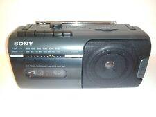 Vintage Sony Cfm10 Mini Boombox Radio Cassette Player Recorder w/ Power Chord