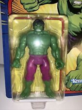 Marvel Legends Retro Kenner The Incredible Hulk 3.75? NEW Unpunched