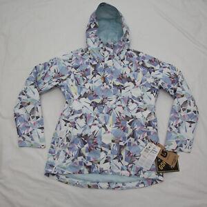 BURTON Womens Gore-Tex Rubix Diamond Snow Jacket Large NEW pastel