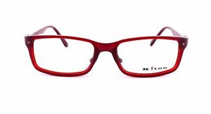 NWT KITON EYEGLASSES Capodimonte red cellulose acetate titanium luxury Italy