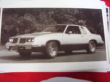 1984 OLDSMOBILE  HURST CUTLASS   BIG 11 X 17  PHOTO   PICTURE