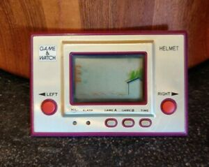 Nintendo Game And Watch Helmet Vintage