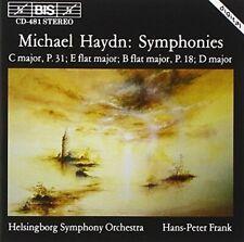 Michael Haydn - Symphonies (Frank, Helsingborg Symfoniorkester) [CD]