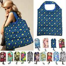 Reusable Handy Tote Pouch Handbags Recycle Storage Shopping Bag Foldable
