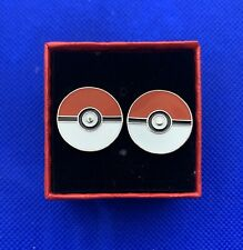 Pokemon Pokeball Cufflinks Pokemon Go Character Clasp Cufflinks NEW