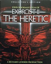 Exorcist Ii: Heretic Blu-ray with slipcover
