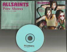 ALL SAINTS Pure Shores Out of Reach 2000 USA PROMO Radio DJ CD single AllSaints