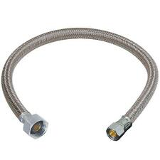 """13"""" 13 Faucet Sink Connector water supply line 1/2 FIP x 3/8 compression NEW"""