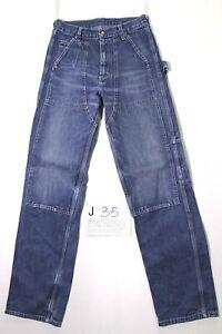 Lee worker jeans usato (Cod.J35) Tg.42 W28 L34 vintage jeans WORK PANT LARGO