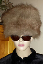 Hot Heads by Fur Flyers Russian ushanka cossack fur hat never worn vintage