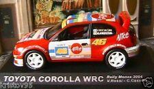 TOYOTA COROLLA WRC #46 ROSSI CASSINA RALLY MONZA 2004 IXO ALTAYA 1/43 ALICE