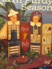 It's A Plum Purdy Season Painting Book-Mullins-Raggedy Ann,Andy/Snowmen/Gingerbr