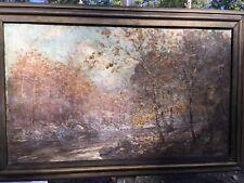 Original HAL ROBINSON oil painting for restoration