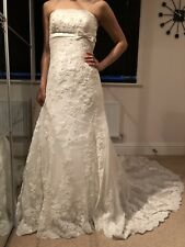 Pronovias Wedding Dress Lace Size 6