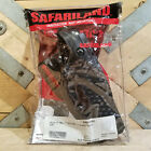 "Safariland Glock 17 22 Duty Holster Leather Basketweave Black 4.5""  Swanky Barn"