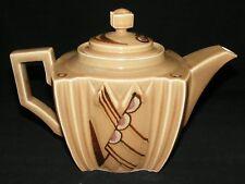 Art Deco Teapot Hand Painted Japan