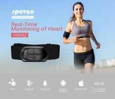 Spovan HR002 APP Bluetooth Wireless Sport Heart Rate Monitor Chest Strap Band