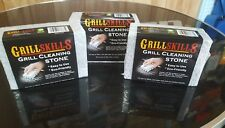 Grill Skills - 2 pack Stone Grill Cleaner BBQ Accessories Tools Utensils Outdoor