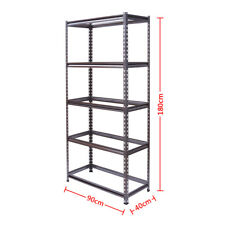 Rack Storage Garage Shelves Shelving Shelf Racking AU 5 Tiers Boltless Warehous
