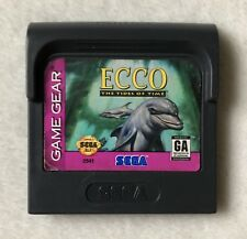 Ecco: The Tides of Time (Sega Game Gear, 1993) *Cleaned & Tested*