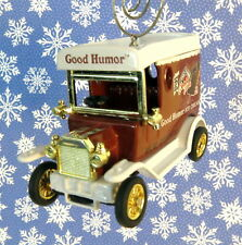 Custom Christmas Ornament 1/64 Scale Good Humor Ice Cream Car
