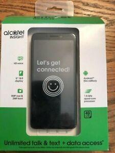 "CRICKET WIRELESS ALCATEL INSIGHT PREPAID CELL PHONE 5"" Display, 5MP Camera NEW"