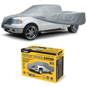 Pickup Truck Cover for GMC Sierra Indoor Water Resistant Dirt Scratch Protection
