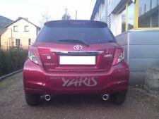 Doppio Scarico Sportivo Toyota Yaris 2011-> Ulter 95x65 mm (consegna 15 giorni)