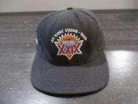 VINTAGE San Francisco 49ers Hat Cap Black Snap Back Super Bowl Football 90s