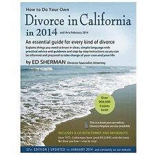 How to Do Your Own Divorce in California in 2014: An Essential Guide f-ExLibrary