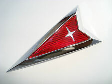 NEW~> CHROME PONTIAC 4.75 inch Emblem G6 G8 Solstice Trans Am Torrent Vibe ARROW