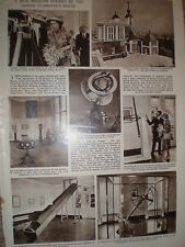 Photo article maritime instrument museum Flamstead House Greenwich London 1960