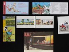 LOT HERGE ESTEVE FORT TINTIN Bar (300)