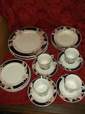 """20 PIECES OF CHINA PEARL """"ALICE"""" 8860 PLATES, BOWLS, CUPS, SAUCERS...EXCELLENT!"""