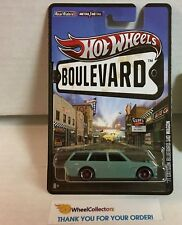 '71 Datsun Bluebird 510 Wagon * Teal * Hot Wheels Boulevard * G13