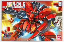 Bandai 615688 Gundam MSN-04 Sazabi (Metallic Coating Version) 1/144 Scale
