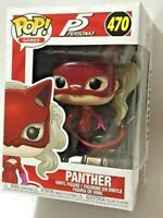 FUNKO Pop Games PERSONA 5 P5 PANTHER #470 4in Vinyl Figure NEW IN STOCK