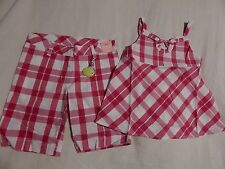 NWT 6 GYMBOREE CANDY APPLE TOP & SHORTS