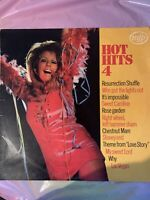 HOT HITS 4 - Various Artists Vinyl LP in Very Good Condition .2